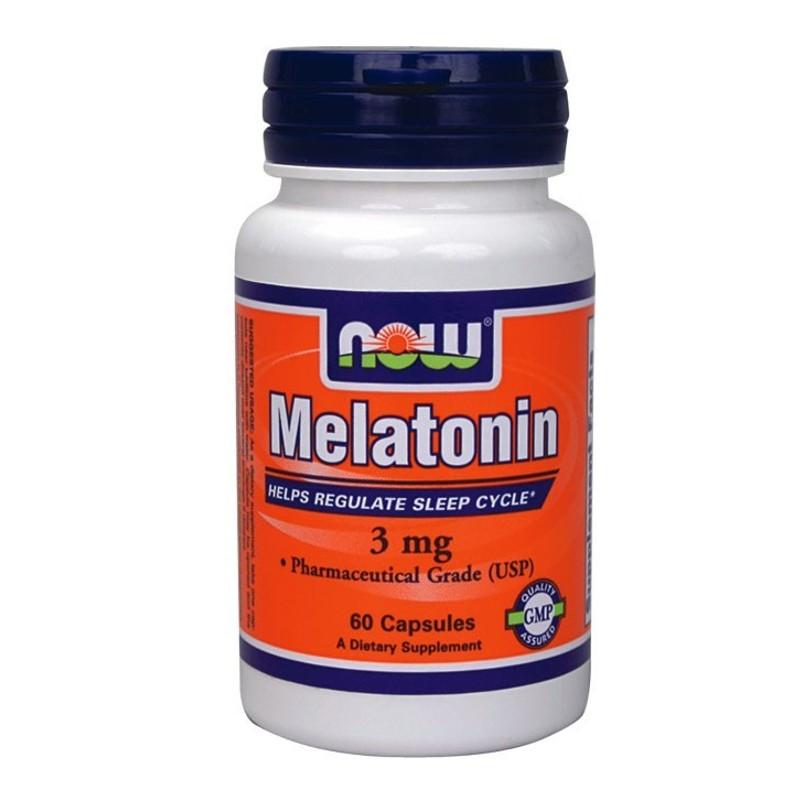 Μελατονίνη 60caps, Now