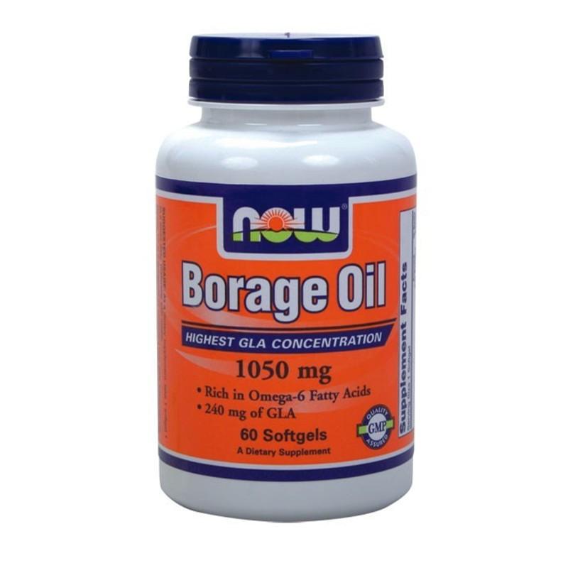 Λάδι Μποράνγκο 60S.gels - Borage Oil, Now