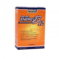 Instant Energy B-12 75 packets, Now