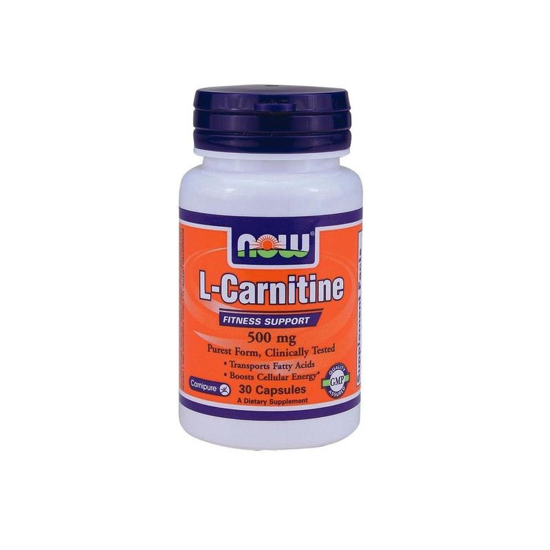 L-Kαρνιτίνη 500mg 30caps, Now