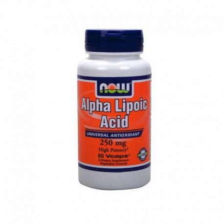 Άλφα Λιποϊκό Οξύ 250mg, Now