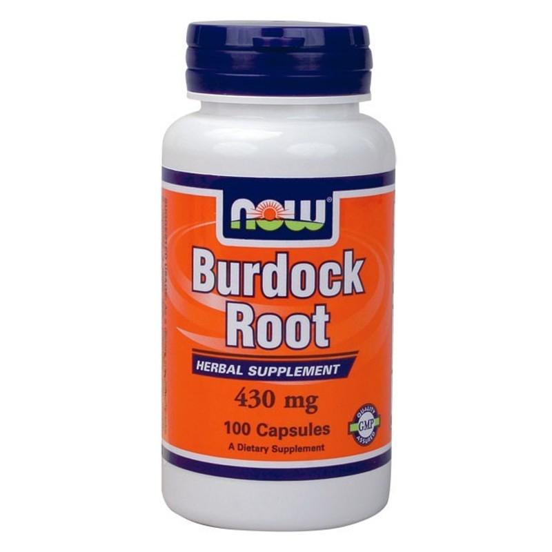 Ρίζα Burdock 430gr 100 Caps, Now