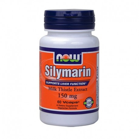 Milk Thistle/Silymarin 150mg 60 Vcaps, Now