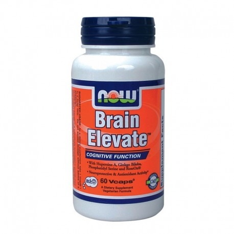 Brain Elevate Vegeterian 60 Vcaps, Now
