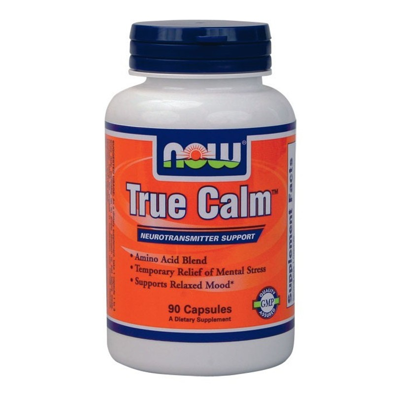 True Calm 90 Caps, Now