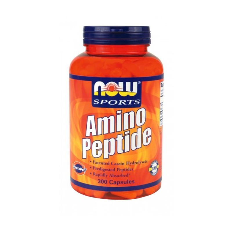 Amino Peptide 400mg 300caps, Now