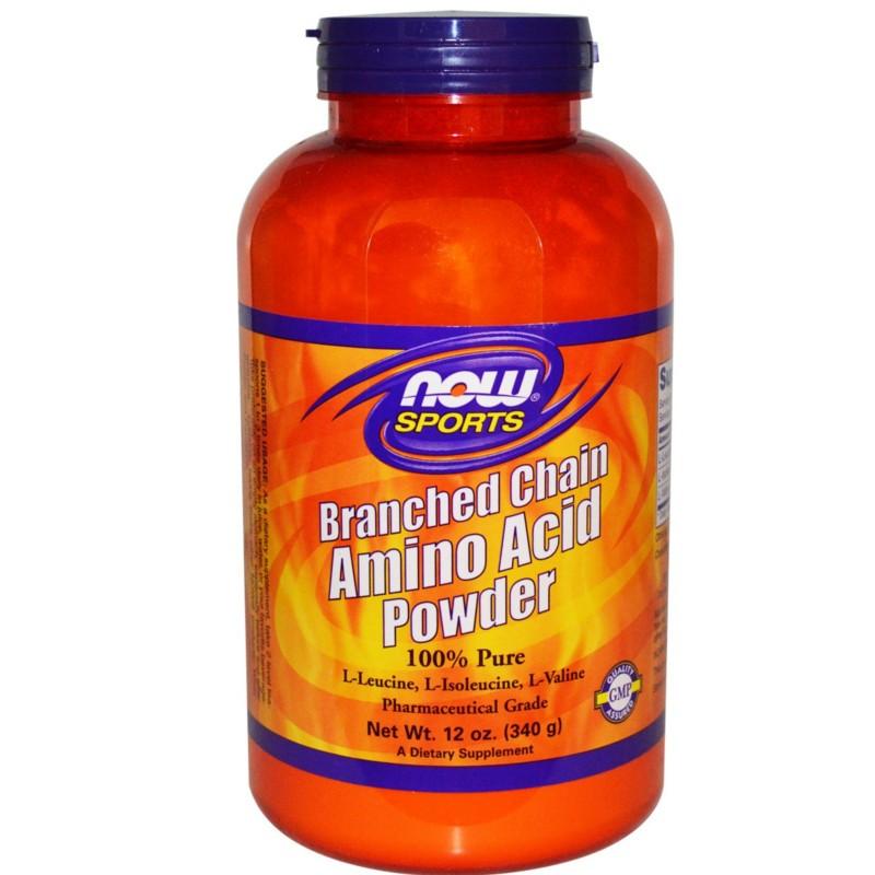 Bcaa's Powder 12oz (340 gr) Branched Chain Amino Acid Powder, Now