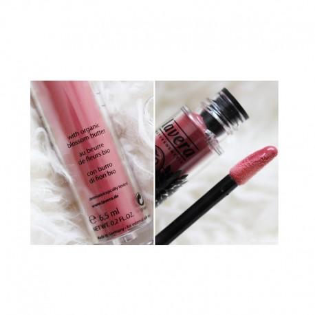 Βιολογικό LipGloss No9 Delicious Peach, Lavera