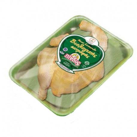 Κοτόπουλο Μισό Νωπό Βιολ.Εκτροφής Πίνδος (τιμή ανά κιλό)