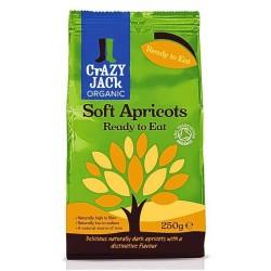 Βιολογικά Βερύκοκα έξτρα Μαλακά Bio 250γρ., Crazy Jack Organic