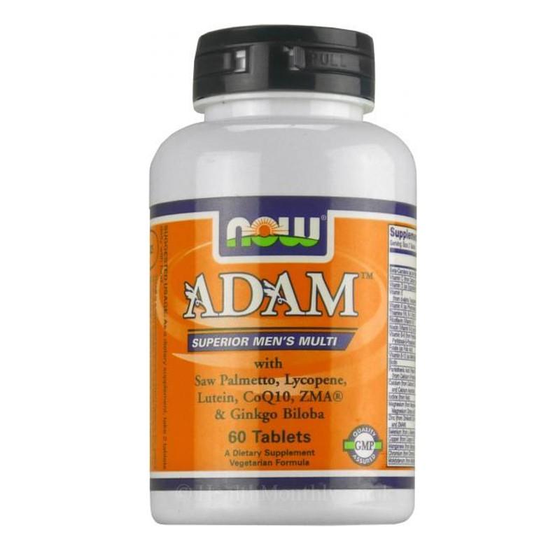 Αdam Πολυβιταμίνες για τον Άντρα - 60 Tabs, Now