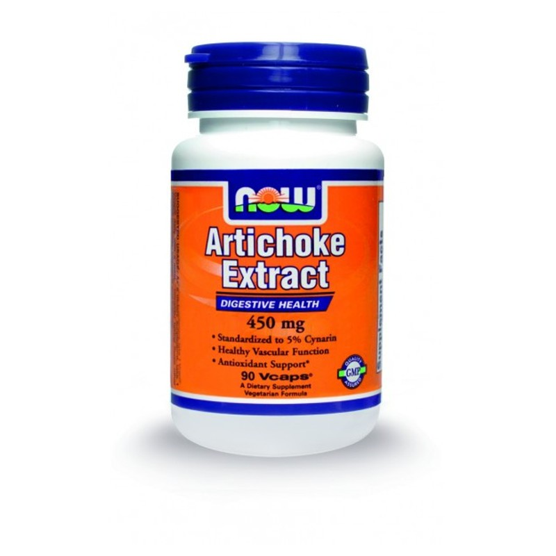 Artichoke Extract (Εκχύλισμα Αγκινάρας) 450mg - 90 Vcaps, Now