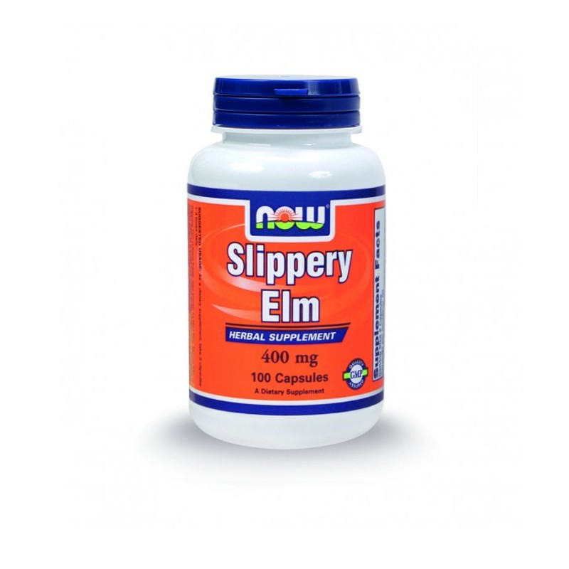 Slippery Elm 400mg - 100 Caps, Now