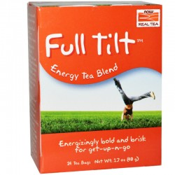 Full Tilt Energy - 24 Tea Bags, Now Real Tea