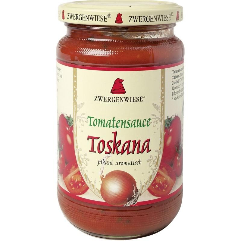 Βιολογική Σάλτσα Ντομάτας Τοσκάνα Bio 350γρ., Zwergenwiese