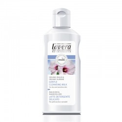 Lavera Απαλό Γαλάκτωμα Καθαρισμού Προσώπου με Μολόχα & Αμύγδαλο 125ml, Βιολογικό