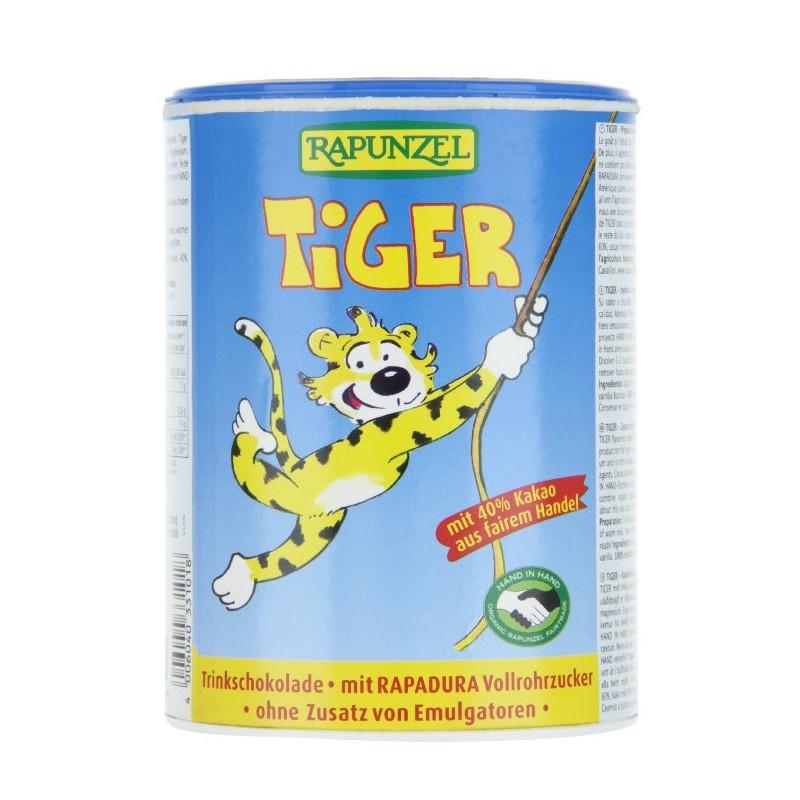Βιολογικό Ρόφημα Κακάο Tiger Bio 400γρ., Rapunzel