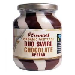 Βιολογικό Επάλειμμα Σοκολάτας Duo Swirl Bio 400γρ., Essential