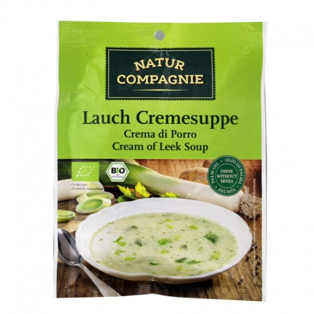 Σούπα Βελουτέ με Πράσα 43γρ. Βιο Natur Compagnie