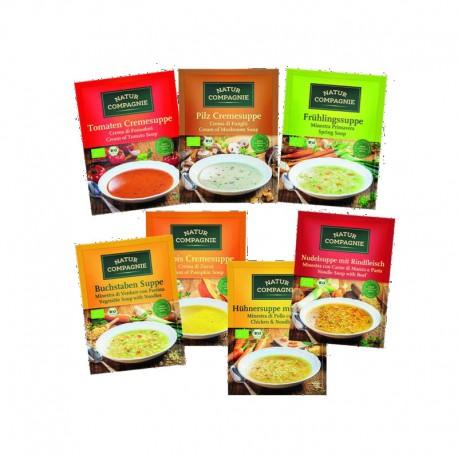 Σούπα Λαχανικών Βελουτέ 43γρ. Βιο Natur Compagnie