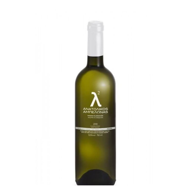 Βιολογικό λ² Ασύρτικο - Μαλαγουζιά Λευκός Ξηρός Bio Οίνος 750ml, Ελληνικό, Anatolikos Vineyards