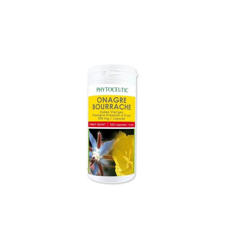 Βιολογικό Έλαιο Νυχτολούλουδο & Πουράντζα Bio 90 κάψουλες, Phytoceutic