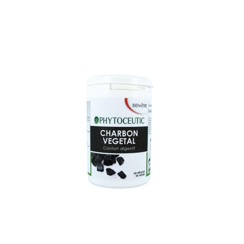 Βιολογικός Eνεργός Φυσικός Άνθρακας Bio 60 κάψουλες, Phytoceutic