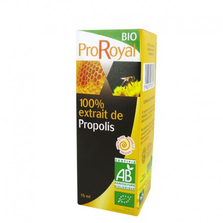 Eκχύλισμα Πρόπολης 100% 15ml Βιο Proroyal