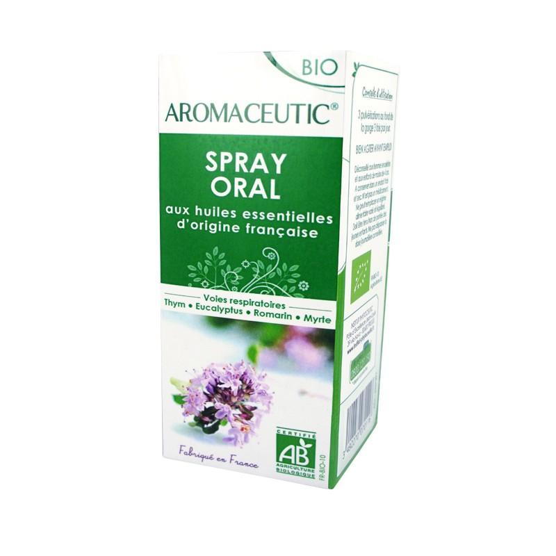 Βιολογικό Σπρέυ για το Λαιμό Θυμάρι, Ευκάλυπτος Aromaceutic 15ml, Phytoceutic
