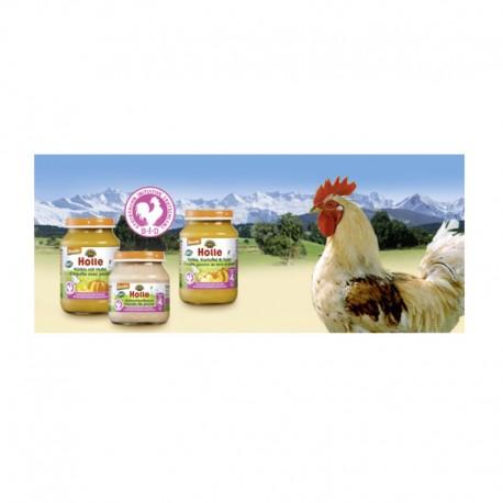 Κοτόπουλο σε Bαζάκι 125 gr Βιολογικό Holle