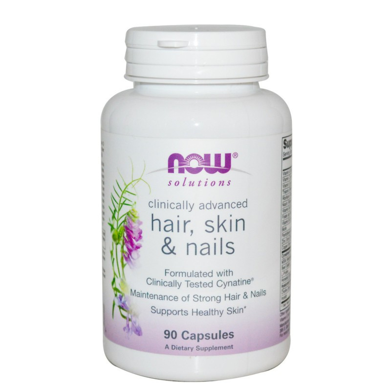 Hair Skin & Nails 90 Capsules, Now Foods