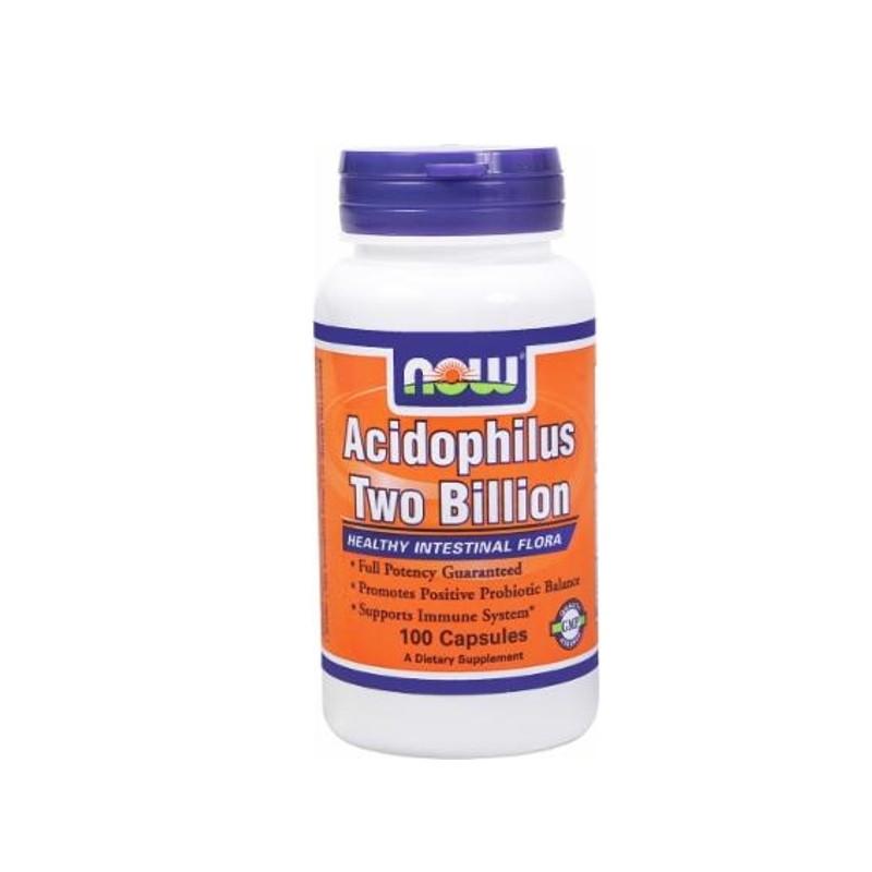 Acidophilus Πεπτικά Ένζυμα 2 Billion 100 κάψουλες, Now Foods