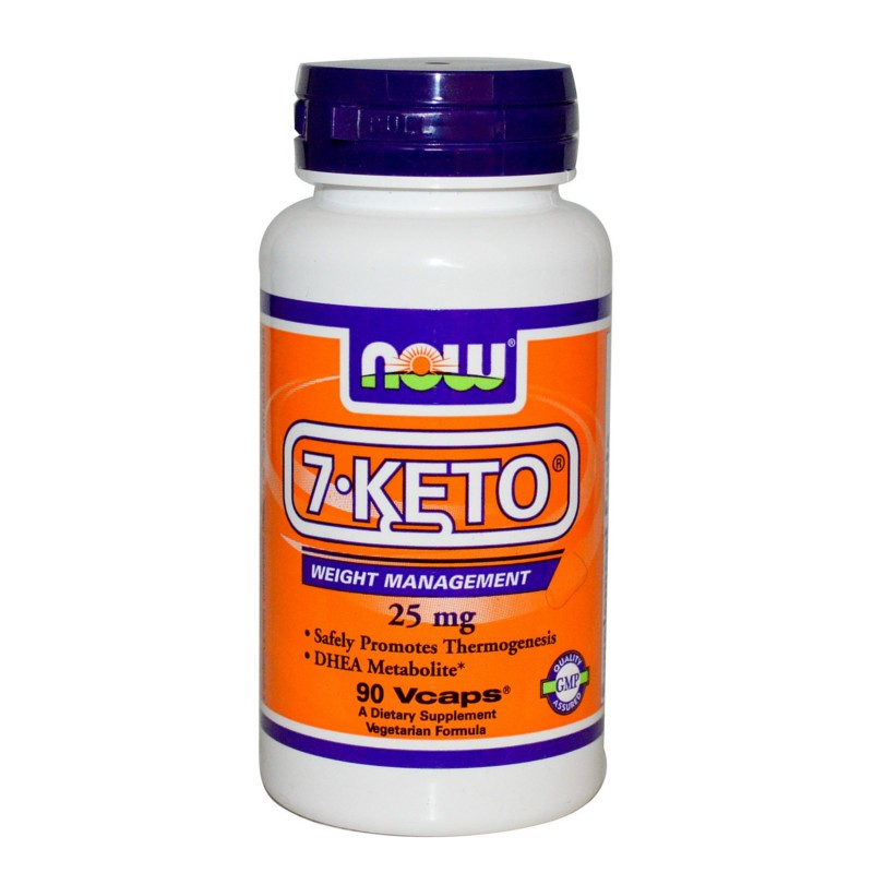 7-Keto 25mg - 90 Vcaps, Now Foods