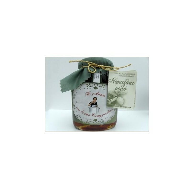 Γλυκό Κουταλιού Nεραντζάκι Ρολό 400γρ., Ελληνικό, Το Γλυκό της Θείας Ευαγγελίας