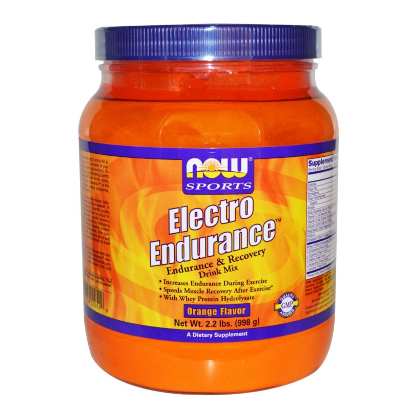 Electro Endurance 2.2lbs, Now Foods