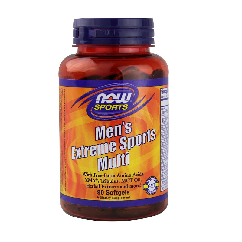 Men's Extreme Sport Multi 90 Softgels, Now Foods