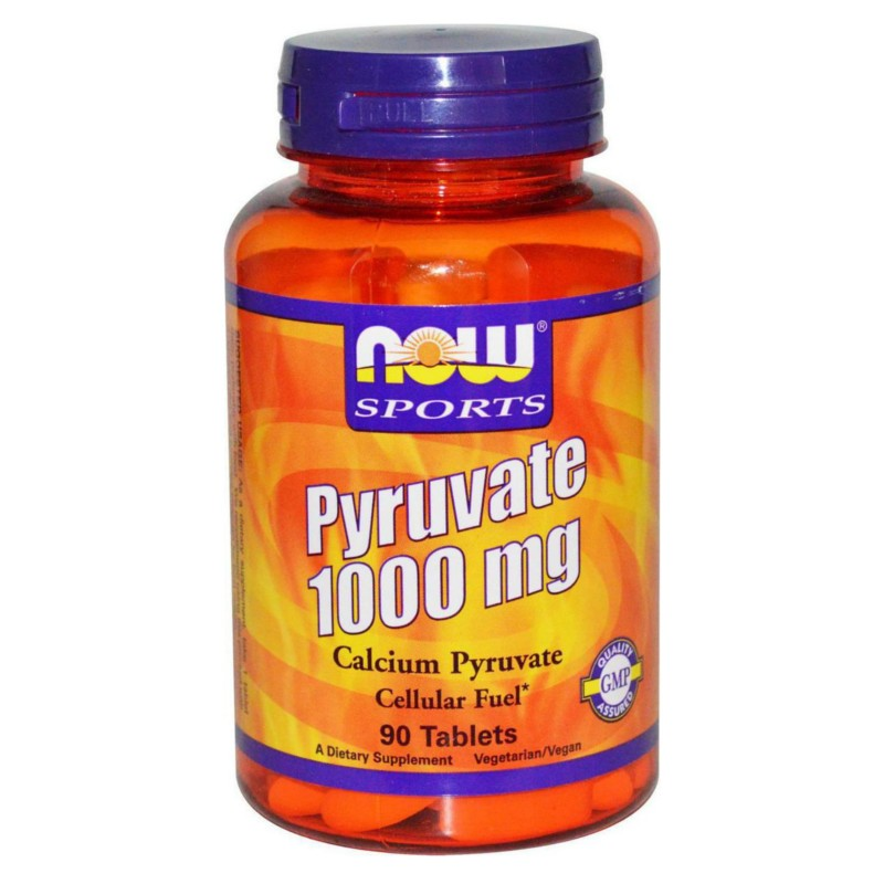 Pyruvate 1000mg 90 tabs, Now Foods