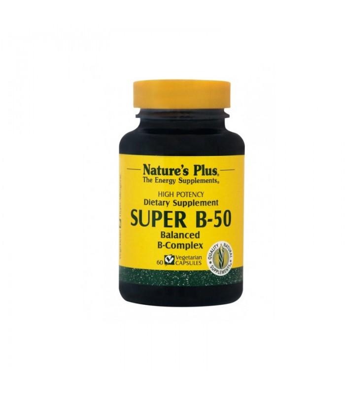 Super Β-50 60 ταμπλέτες, Nature's Plus