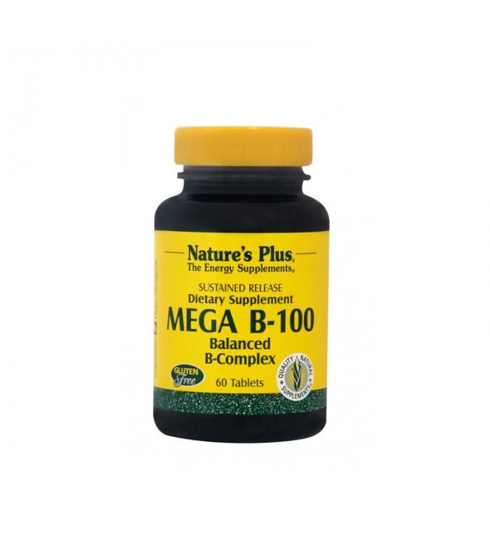 Mega Β-100 60 ταμπλέτες, Nature's Plus