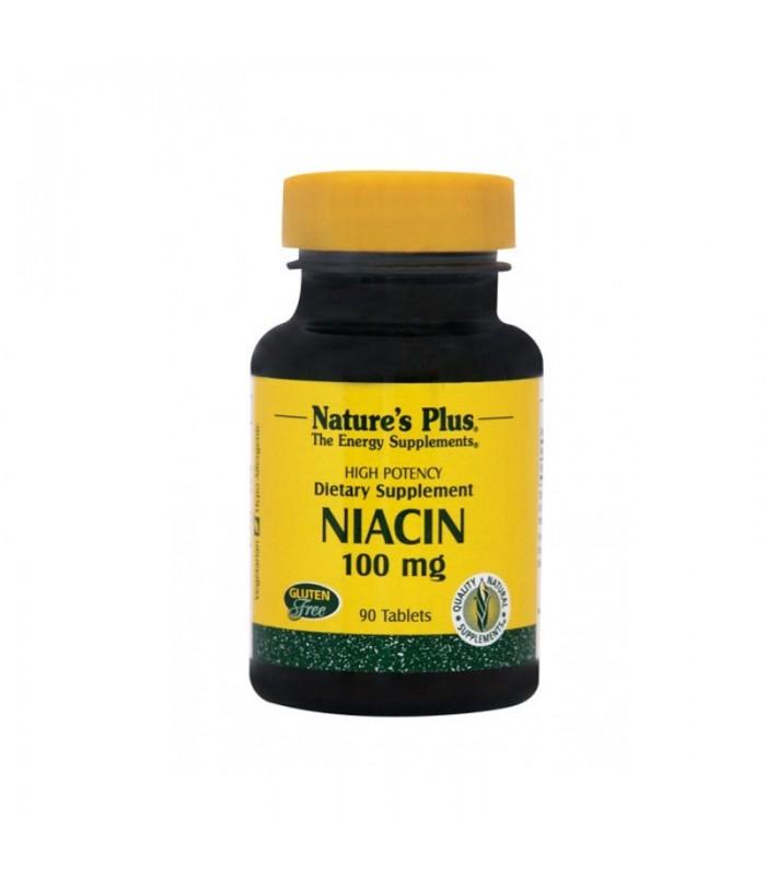 Νιασίνη Νικοτινικό οξύ, B-3 90 ταμπλέτες 100mg, Nature's Plus