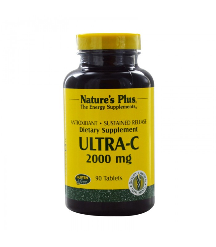 Ultra C 60 ταμπλέτες 2000mg, Nature's Plus