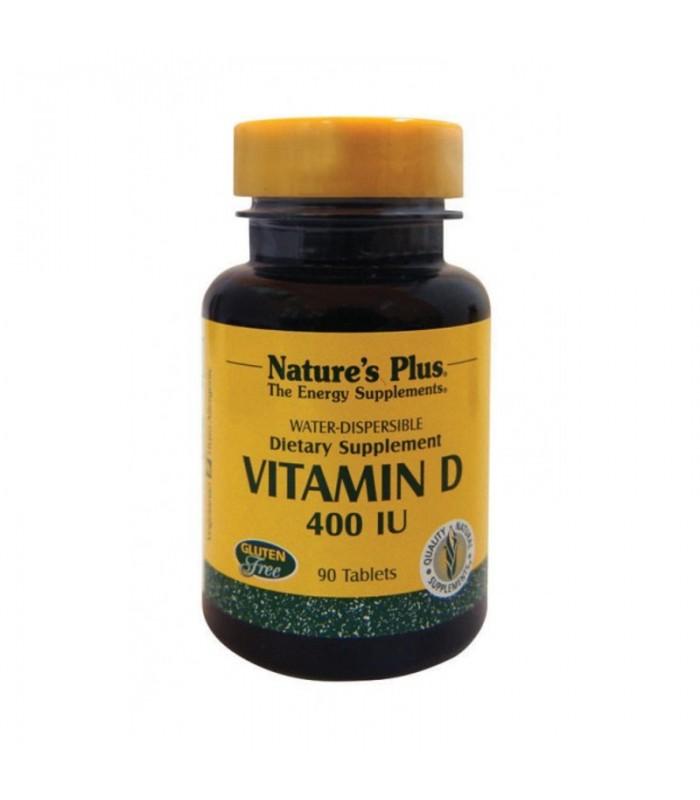 Βιταμίνη D 400 IU 90 ταμπλέτες, Nature's Plus
