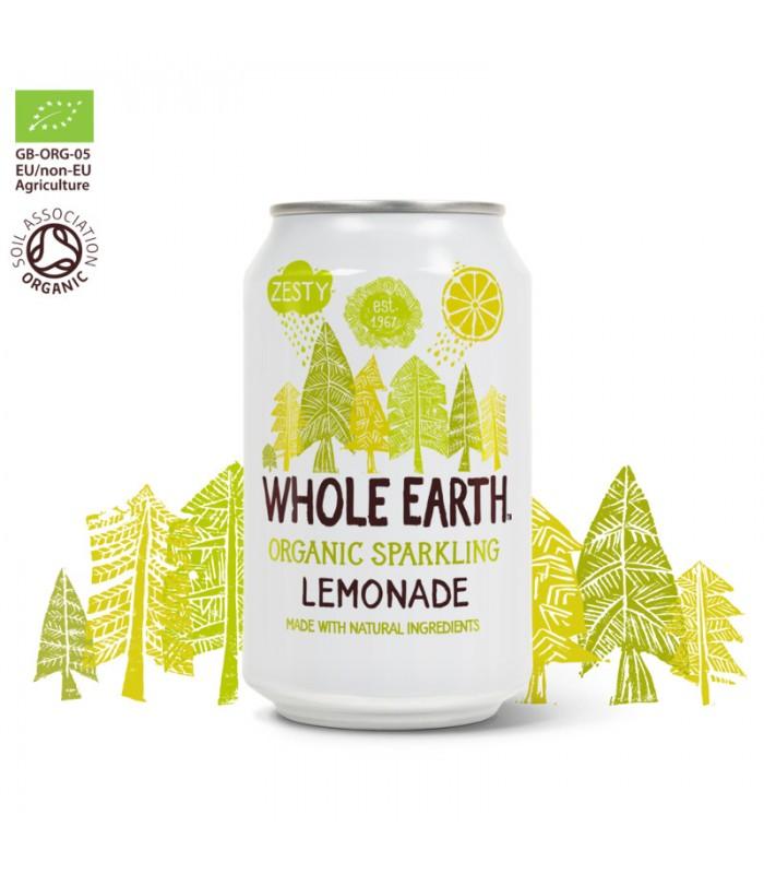 Βιολογικό Αναψυκτικό Λεμονάδα 330ml Bio Χωρίς Ζάχαρη, Whole Earth