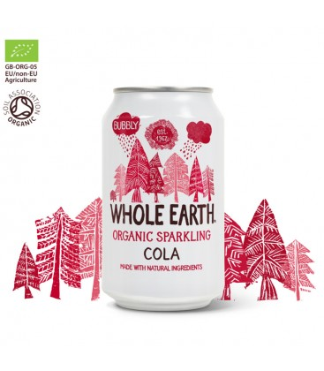 Bio Αναψυκτικο Cola χωρίς ζάχαρη Whole earth