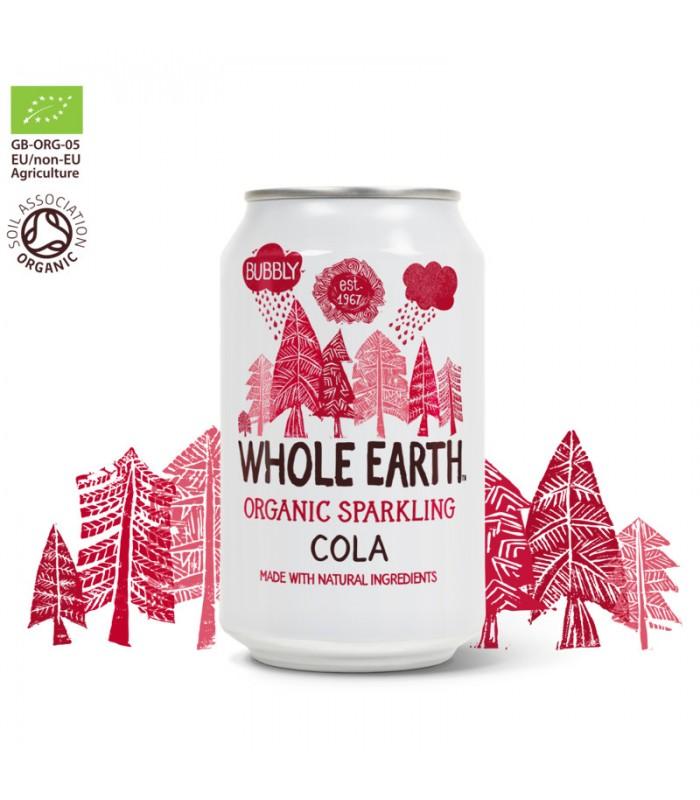 Βιολογικό Αναψυκτικό Cola Bio Χωρίς Ζάχαρη, Whole Earth