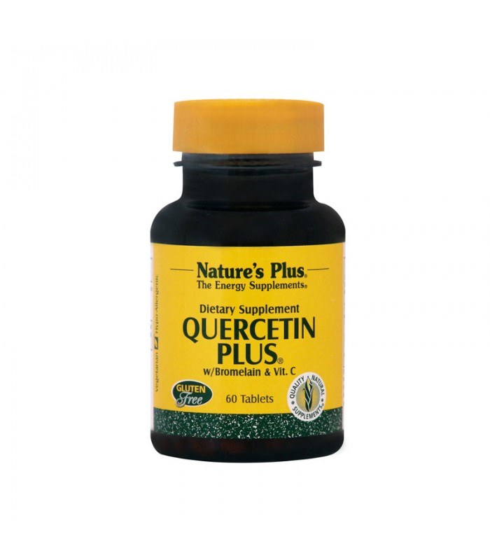 Quercetin Plus 60 ταμπλέτες, Nature's Plus