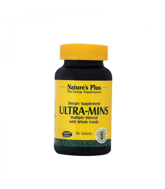 Ultra - Mins 90 ταμπλέτες, Nature's Plus