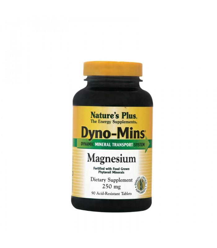 Μαγνήσιο 250mg Dyno-Mins 90 ταμπλέτες, Nature's Plus