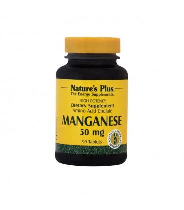 Manganese (Μαγγάνιο) 50mg 90ταμ.Nature's Plus