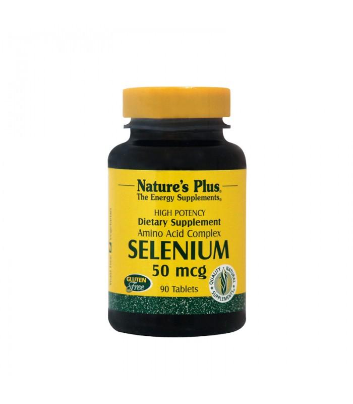 Selenium Σελήνιο 90 ταμπλέτες 50mcg, Nature's Plus